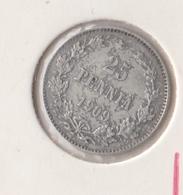 @Y@   Finland  25 Pennia   1909   Zilver   (2741) - Finnland