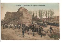 02 - Soissons - Démantèlement Des Remparts St Christophe - Soissons