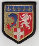 Insigne De Bras De La Compagnie Routière De Circulation De Gendarmerie Rhône Alpes - Police & Gendarmerie