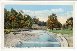 Cpa Cliffs And Bridges , Brookside Park Cleveland Ohio - Cleveland