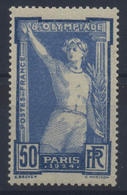 //// France Yvert 186** - Ete 1924: Paris