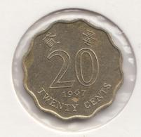 @Y@   Hong Kong   20  Cents  1997    (4461) - Hong Kong