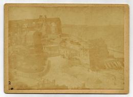 VEULES LES ROSES - Ancienne Photographie Cartonnée Format 13 X 18 - Antiche (ante 1900)