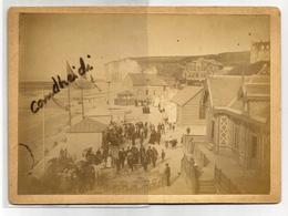VEULES LES ROSES - Ancienne Photographie Cartonnée Format 13 X 18 Avec La Musique - Fotos