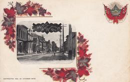 Vintage - Richmond Québec Canada - Rue Main Street - Original Patriotic Card - Dos Simple Back - Unused - 2 Scans - Quebec
