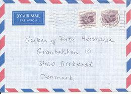 Yugoslavia Air Mail Cover Sent To Denmark Chrikvenica 7-5-1987 - Airmail