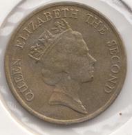 @Y@   Hong Kong   10  Cents  1992    (4456) - Hongkong