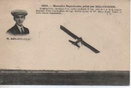 MONOLAN  DEPERDUSSAINT PILOTE PAR  BELOVUCCIC - Aviateurs