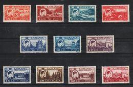 1947 - Activites Nationales Mi No 1066/1075  MNH - 1918-1948 Ferdinand, Carol II. & Mihai I.