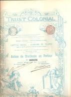 Trust Colonial - 1899 - Afrique