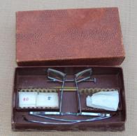 Sciences & Technique 001, Ancienne Paire De Lunettes Horloger ??? Vintage Curiosité - Sciences & Technique