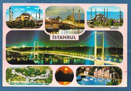 TURKEY ISTANBUL SEHIRDEN MUHTELIF GORUNUSLER 1986 - Turchia