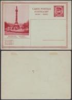 """Belgique 1931- EP Képi 1F Rouge : Bruxelles """" Colonne Du Congrès """" (DD) DC 1799 - Ganzsachen"""