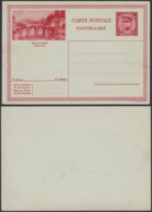 """Belgique 1931- EP Képi 1F Rouge  : Bouillon """" Semois """" (DD) DC 1802 - Ganzsachen"""
