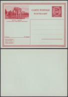 "Belgique 1931- EP Képi 1F Rouge  : Gand "" Château Des Comtes ""  (DD) DC 1805 - Postwaardestukken"