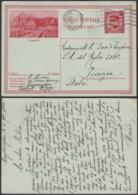 Belgique 1931- EP Képi Voyagé 1F Rouge  : Dinant  (DD) DC 1811 - Ganzsachen