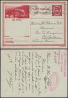 """Belgique 1931- EP Képi Voyagé 1F Rouge  : Huy """" Panorama """"  (DD) DC 1817 - Ganzsachen"""