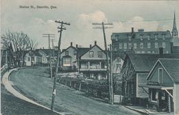 Vintage - Danville Québec Canada - Rue Station Street - Unused - Very Good Condition - 2 Scans. - Quebec