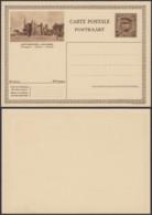 """Belgique 1931- EP Képi 40C Brun  : Anvers """" Musée """"  (DD) DC 1824 - Entiers Postaux"""