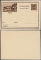 """Belgique 1931- EP Képi 40C Brun  : Bouillon """" Semois """"  (DD) DC 1825 - Ganzsachen"""