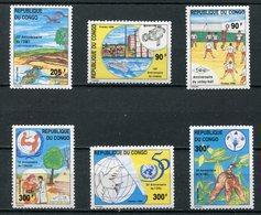 1996-CONGO- SPORT -RARE  -M.N.H. -  6 VAL. LUXE !! - Congo - Brazzaville