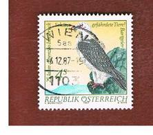 AUSTRIA -  SG  2143   - 1987  ALPINE ZOO, INNSBRUCK: BIRDS (GYPAETUS BARBATUS)   -  USED ° - 1945-.... 2ème République