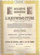 Congo - Soc. Minière De L'Aruwimi - Ituri - Afrique