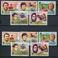 1978-CONGO- FOOT BALL + SURCHARGED -M.N.H. - 10 VAL. LUXE !! - Neufs