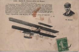 1582  BIPLAN FARMANN  PILOTE  PR  RENAUX ETAT - Aviateurs
