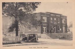 Danville Shipton Townhall Québec - Car Voiture - Unused - VG Condition - 2 Scans. - Quebec