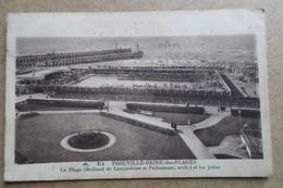 TROUVILLE - La Reine Des Plages - La Plage Et Les Jetées ( 14 Calvados ) - Trouville
