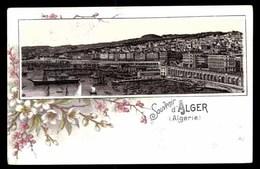 ALGERIE, Gruss Aus, LITHO - Alger