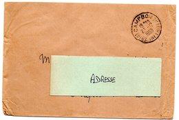 LOIRE INFERIEURE - Dépt N° 44 = CAMPBON 1955 = CACHET A7 SANS Timbre MAIS Non Taxé - Manual Postmarks