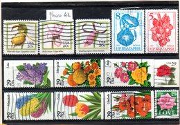 Thématique Fleurs, Lot De 13 Timbres, Lot N° 42 - Autres