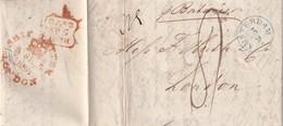 PAYS-BAS 1838 LETTRE DE AMSTERDAM POUR LONDRES - Niederlande