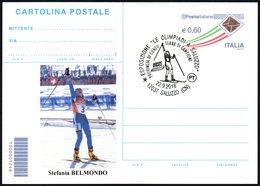 NORDIC SKIING / OLYMPIC WINNERS - ITALIA SALUZZO (CN) 2018 - ESPOSIZIONE LE OLIMPIADI - SCI DI FONDO: STEFANIA BELMONDO - Sci