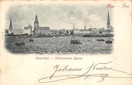 ¤¤   -    LETTONIE   -  RIGA   -   Düna-Quai    -  ¤¤ - Lettonie