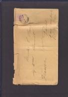 TIMBRE. LETTRE. ....ROUMANIE.PARIS.VAL DE GRACE.HOPITAL. - Cartas De La Primera Guerra Mundial