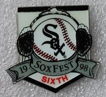 Pin's Baseball SoxFest 1998 .31X35 Mm . Superbe - Baseball