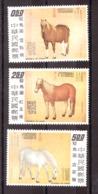 Chine (Formose) - 1973 - N° 919 à 921 - Neufs ** - Chevaux Par Guiseppe Castiglione - Chevaux