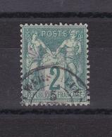 FRANCE Type Sage N° 62°  N/B - 1876-1878 Sage (Type I)