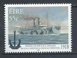 Irlande 2008 N°1829  Neuf ** Nauvrage De Navire Postal - 1949-... Republik Irland