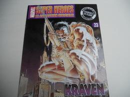 Marvel Super Héroes La Collection Officielle N° 23 KRAVEN (Revue Vendue Sans Figurine - Marvel Heroes