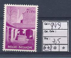 BELGIUM  COB 949 MNH - Belgium