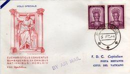 India Vaticano 1964 Volo Speciale Convegno Eucaristico Internazionale A Bombay San Tommaso - India