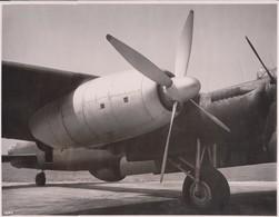 AVRO LINCOLN BOMBER  BRISTOL THESEUS PROPELLER TURBINE   24 * 18 CM   AIRPLAIN, AIRCRAFT BRISTOL HAWKER SIDDELEY - Aviación