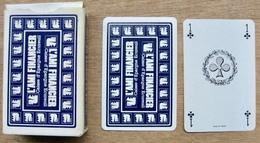 JEU DE 52 CARTES ET 2 JOKER AVEC ETUI L'AMI FINANCIER CAISSE D'EPARGNE ECUREUIL / MADE IN FRANCE CARTES A JOUER HERON - Cartes à Jouer Classiques