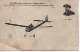 MONOPLAN SOMMER  PILOTE PAR  MOLLA 1514 ETAT - Aviateurs