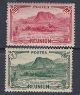 Réunion  N° 139 + 140 XX Partie De Série : Les 2  Valeurs Sans Charnière, TB - Réunion (1852-1975)