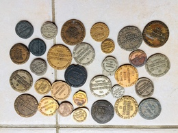 LOT 31 PIECES COLLECTION BP ROIS DE FRANCE TRESOR DES PIRATES MONNAIES ANCIENNES OU ANTIQUES - Specimen